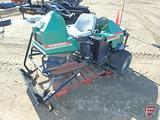 Cushman GroomMaster riding bunker rake, model 898922, seller states: does not run