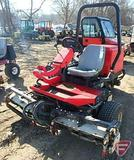 Toro 3100D Sidewinder 3-gang diesel reel mower, ROPS, model 03201, SN: 200000833, 2,530 hrs showing