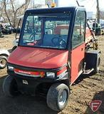 Cushman utility vehicle sprayer, cab with heat, model 898628 TruckGAT, 2,975 hrs showing