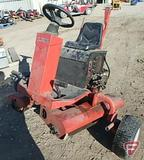 Smithco model 7502 riding side to side gas 2-roll greens roller, SN: T352