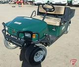 2006 EZ-GO MPT 1200 gas utility vehicle with poly box, green, SN: 2404949