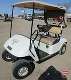 2009 EZ-GO TXT electric golf car with top, white, SN: 2668366