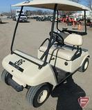 Club Car gas golf car, with top, beige, SN: AG0238-201076