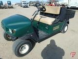EZ-GO MPT 1200 gas utility vehicle with poly box, green, SN: 2617233