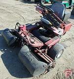 Toro 3000 GreensMaster gas 2WD reel mower, ROPS, baskets, 4,224 hrs showing
