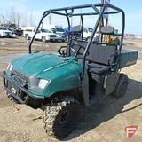 Polaris 500 EFL Ranger 4x4 4WD ATV, gas, 437 hrs showing, mfg date 3/18/08, with electric winch