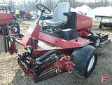Toro Reelmaster 5200D 2WD diesel 5-gang reel mower, lights, 4,654 hrs showing, SN: 03540-200000262