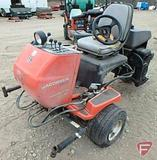 Jacobsen Textron GreensKing IV Plus 3WD V-twin OHV gas greens mower, 3,506 hrs showing