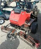 Jacobsen GK-4 2WD 3-gang greens mower, 2,586 hrs, diesel 3 cyl Kohler engine