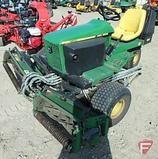 John Deere 2653 tri-plex 3WD gas reel mower, 2,571 hrs, SN: M02653X010113