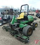 2000 John Deere 3235B 6 ft. 5-gang diesel 2WD fairway reel mower, 1,425 hrs, SN: tc3235t010026