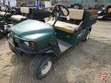 2005 EZ-GO Workhorse gas utility vehicle, manual dump box, lights, model MPT1200G, SN: 2236188