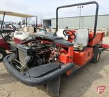 Jacobsen SV3422 gas utility vehicle with manual dump, 2WD, model 84019, SN: 1908