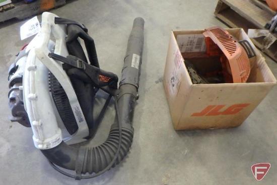 Stihl BR600 backpack blower, SN: 501678277