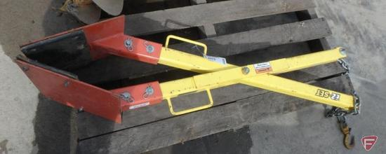 "Bulldog EX-Set quick hook material handling grabber, 18-22"""