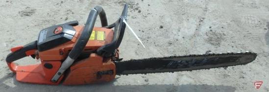 "Echo CS 450 gas chainsaw, 20"" bar"