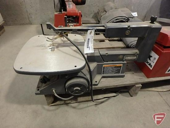 "Sears/Craftsman 16"" direct drive variable speed scroll saw"