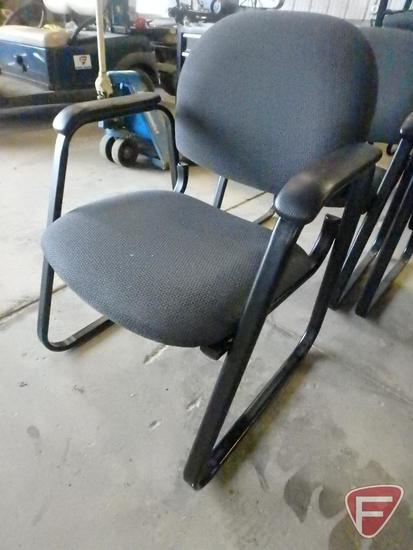 (8) office/reception chairs