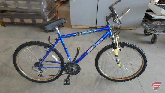 26? men?s blue Thruster Maximum Terrain bike/bicycle