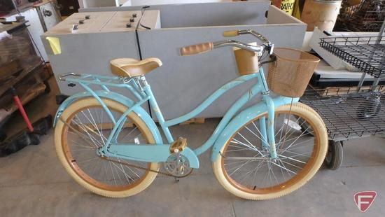 26? women?s light blue Huffy Nel Lusso bike/bicycle