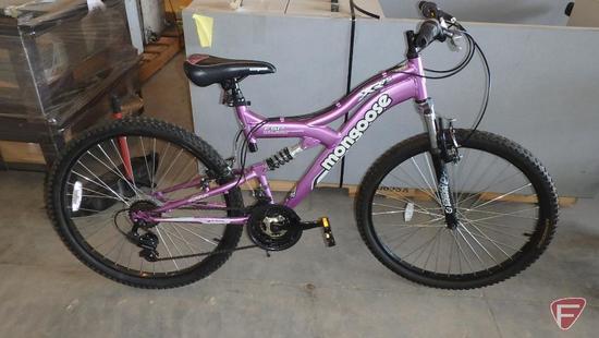 Women?s purple Mongoose bike/bicycle