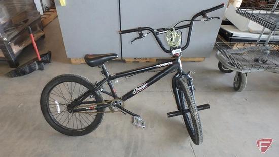 20? youth black Mongoose Brawler bike/bicycle