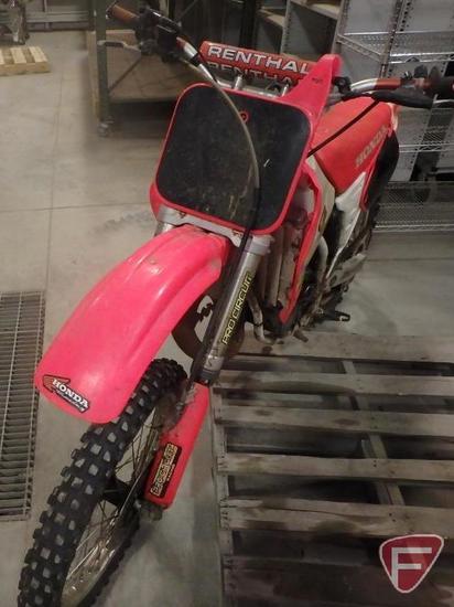 1994 Honda CR125R Motorcycle