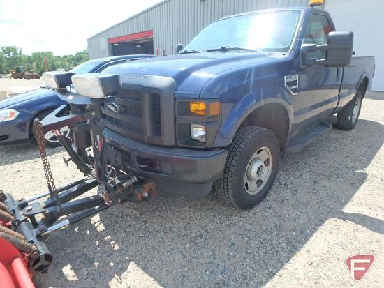 2010 Ford F-250 SuperDuty Pickup Truck with 8' Western Plow