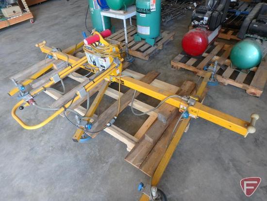 Anver VPF-57-AC Vac-pac vacuum load lifter, 300lb rated load, max load 900lb