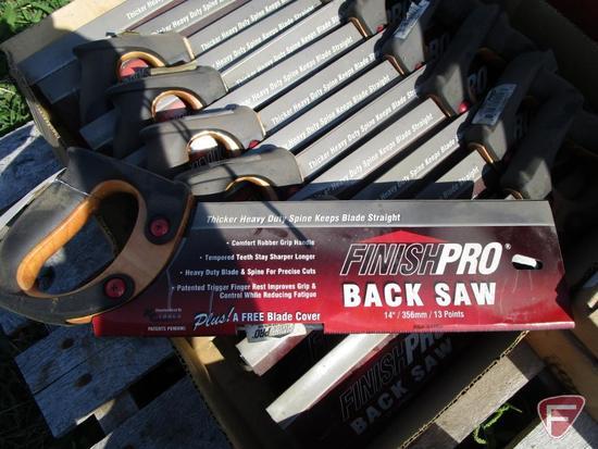 14- Finish Back Pro Back Saws
