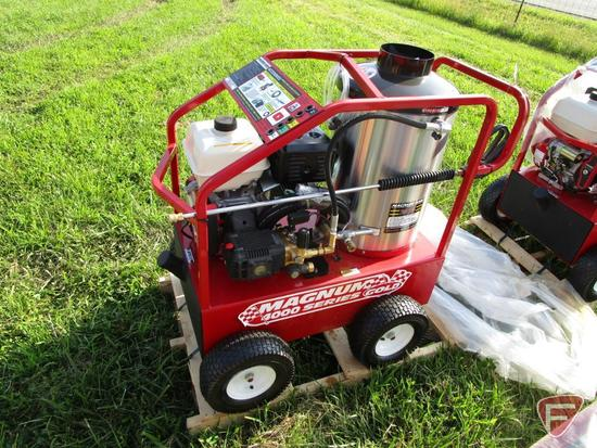 Magnum Gold 4000 Series 15hp Electric Start Hot Water Pressure Washer