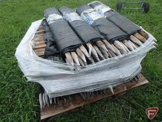 (25) rolls of 3X100 silt fence