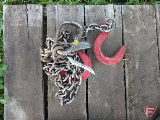 Chain Lifting Sling 2 Hooks