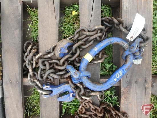 """Chain Lifting Sling 8'4"""" 20,800"""