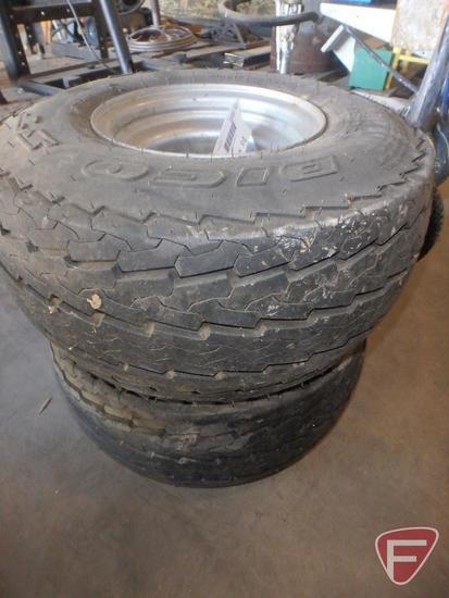 (2) Sportrax Dico ST 18.5x8.5-8 turf tires