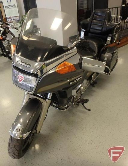 1986 Suzuki GV1400 Cavalcade Full Dresser Motorcycle