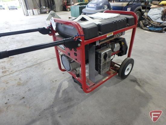 Generac 7000 watt portable generator, model 01470, sn 10075946447