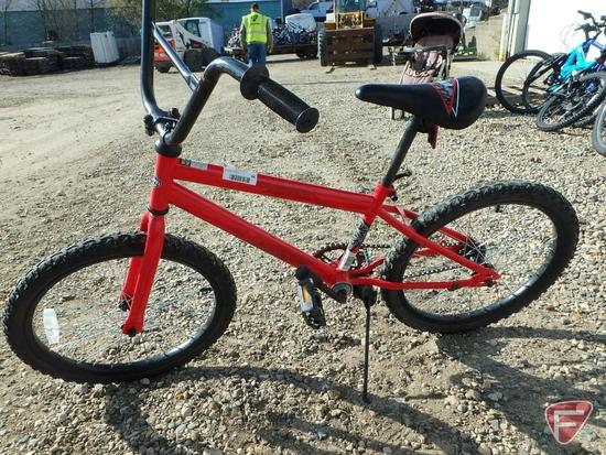 "20"" Youth Huffy red bike/bicycle"