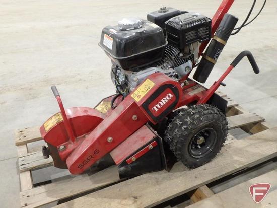 Toro 22600HD walk behind stump grinder with Honda GX 200 gas engine