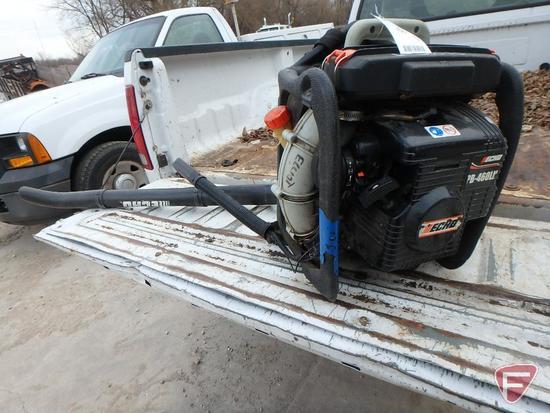 2005 Echo PB-460LN gas backpack blower, sn: 09001129