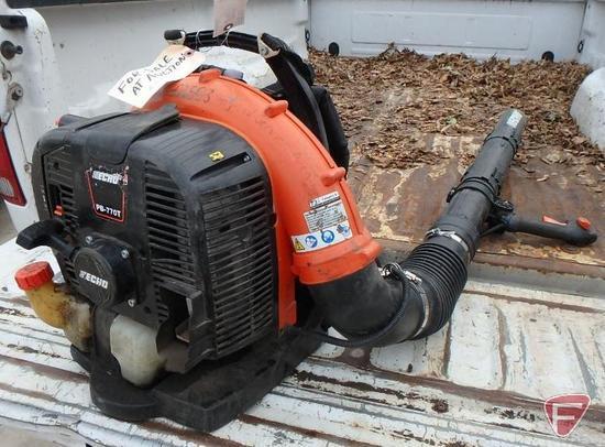 2016 Echo PB-770T gas backpack blower, sn: P45014025920