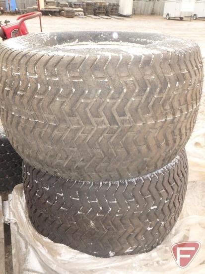 (2) Toro 5200 mower tires, 26.5x14.00-12