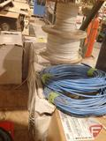 Cat 6 cable; 18-2, 18-3, 18-4, and 18-8 wire