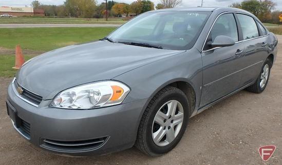 2008 Chevrolet Impala Passenger Car - HAUL ONLY