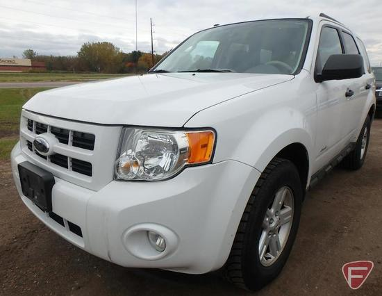 2009 Ford Escape Hybrid Multipurpose Vehicle (MPV) - HAUL ONLY