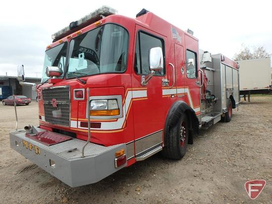 2004 Spartan Gladiator Pumper Fire Truck