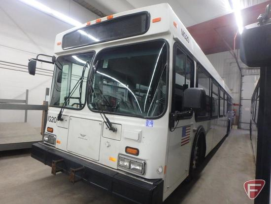 2006 New Flyer D40 LF Diesel Transit Bus