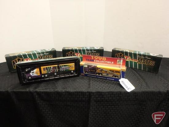 NFL collectable semi double trailers 5