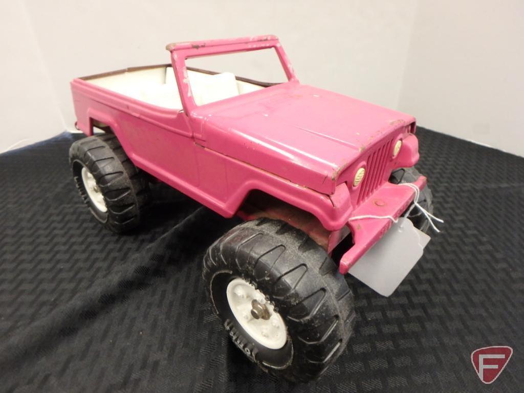 Tonka Jeepster yellow and pink Tonka Jeepster