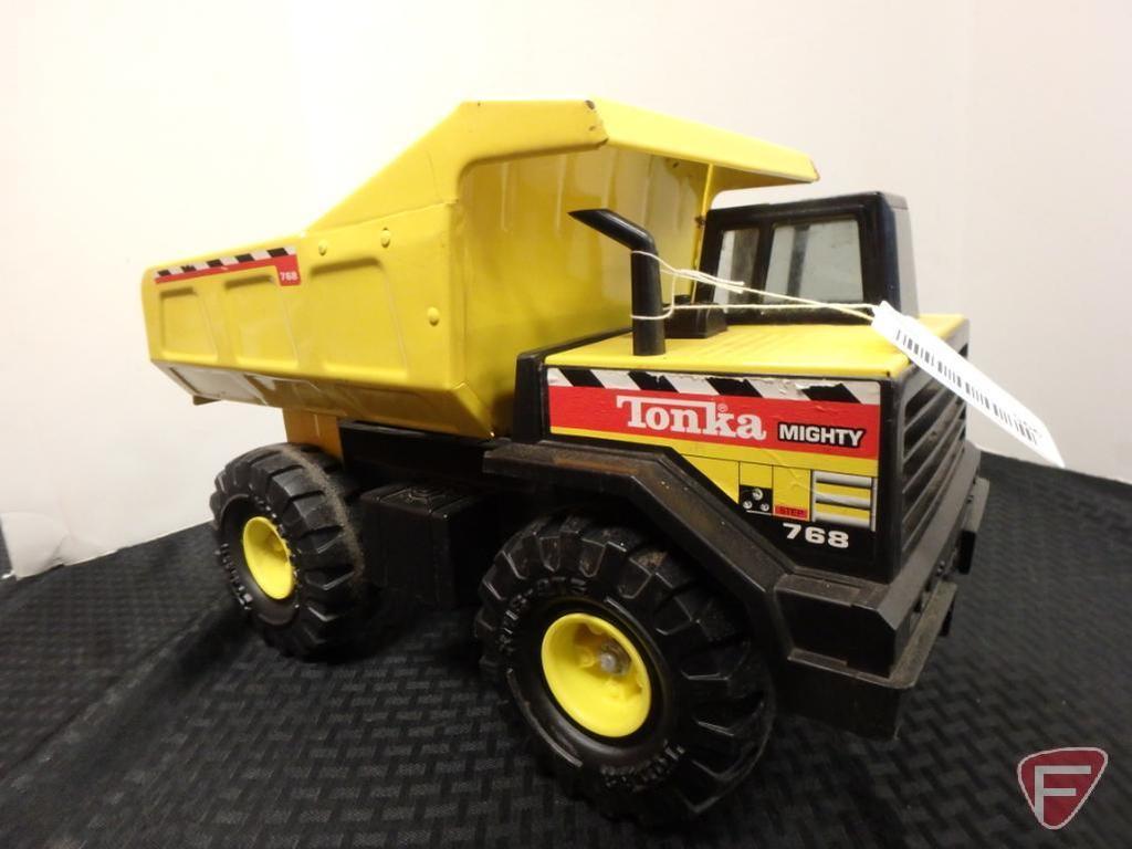 Mighty-Tonka dump truck